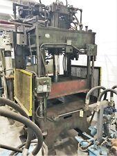 30 Ton Hydraulic 4 Post Press Hannifin A 45168 60 X 38 25 Stroke