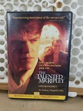 The Talented Mr. Ripley (Dvd, 2000, Widescreen) Damon Law Paltrow Hoffman