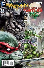 Batman TMNT Teenage Mutant Ninja Turtles #2 Low Print Run DC IDW Comics 2016