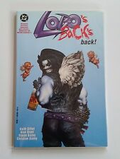Lobo's Back's Back NM/MT (DC,1993) TPB Keith Giffen! Die-Cut Cover RARE!