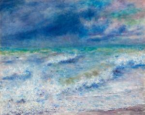 Seascape (1897) by Pierre-Auguste Renoir wall art poster print