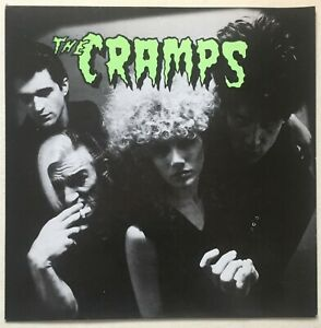 """CRAMPS ~ Fever/Garbageman UK Original Withdrawn 7"""" PS. Picture Sleeve ONLY! EX"""