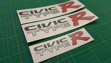 Civic EK9 Type R Type-R decals stickers graphics replacement set JDM
