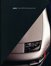 1996 Nissan 300-ZX 300ZX and Turbo 38-page Original Car Sales Brochure Catalog