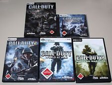 Juegos pc-colección Call of Duty 1 2 4 5 united ofensiva World Modern Warfare