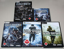 PC Jeux Collection-Call of Duty 1 2 4 5 United offensive World Modern Warfare