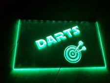 Dart LED Schild - Grün