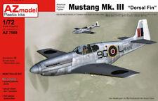 """AZ Models 1/72 North-American Mustang Mk.III """"Dorsal Fin"""" # 7568"""