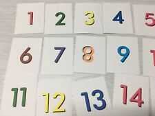 Number and Counting Matchup - Laminated Activity Set - Teaching Supplies