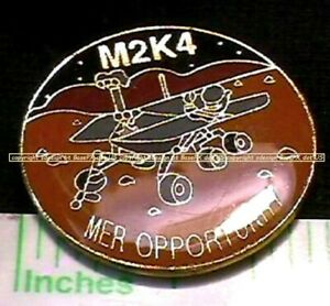 Nasa Mars Exploration Rover (Mer) Occasion Mer M2K4 Commémorative Broche