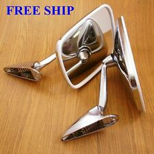 With for Datsun Pickup 1000 1200 1300 1400 1500 Classic Chrome Fender Mirror