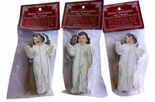 (3) Set of Five Dionne Quintuplets with Pajamas Decorative Hangers 1992