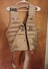 Used Tactical Fighting Load Carrier Vest MOLLE  8465-01-491-7451