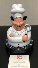 Bengt Ek Design WHITE CHEF 60 Minute Mechanical Kitchen TIMER Art 626 NEW