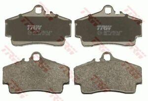 TRW Rear Brake Pad Set for PORSCHE CAYMAN (987) 2.7