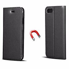 Book Case Cover Flip Xiaomi Redmi 3 SMART PREMIUM Tasche Hülle Etui Schwarz