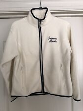 Gogo Fleece Jacket Girls Size M Ivory Color