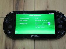 PS Vita 2000 Console Black PCH-2000 software 3.68 V5