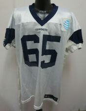 082ac20ff DALLAS COWBOYS NIKE NFL PRACTICE WORN JERSEY RONALD LEARY 14-60 WI #65 W