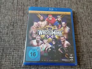 WWE WRESTLEMANIA XXX 30 deutsches 2-Disc Blu-Ray Set Wrestling Hulk Hogan