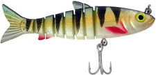 """Zerek Live Mullet 781LM45R-Redfin Soft Plastic Jointed Swimbait Lure 4.5"""" 23g"""