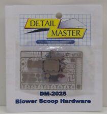 DETAIL MASTER 1/24-1/25 Blower Scoop Hardware Kit DET2025-W