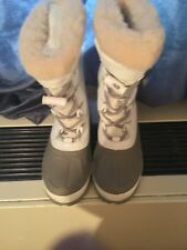 UGGS White Winter Snow Boots For Kids - Size 3/USA- Brand New in Box -Never Worn