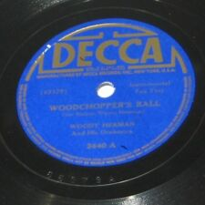 Woody Herman – Woodchopper's Ball / Big-Wig In The Wigwam (Decca 2440) Jazz