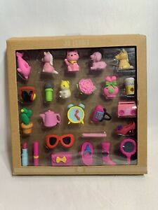 Cute Animals 3D Erasers 25-pieces set~D1 New Open Box