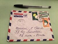 Federal Republic of Cameroon   to France Airmail stamps Cover Ref 51476