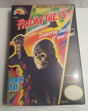 Friday the 13th (Nintendo Entertainment System) CIB nes Authentic Game COMPLETE