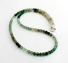 Beautiful 1AA Tourmaline Necklace Precious Stone Facetted Ball multy-farbe