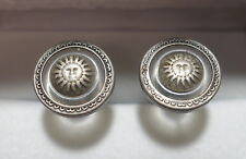"Genuine Versace ""Sun"" Cufflinks 17mm 11/16"" ""Exquisite"""