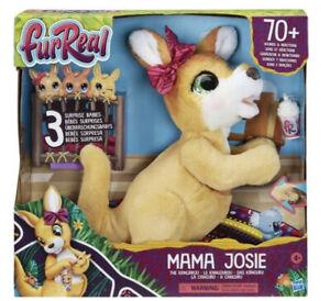 furReal Mama Josie the Kangaroo with 3 babies  70+ Interactive Pet Toy