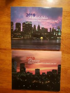 2010 US Uncirculated Mint Set Philadelphia and Denver 28 Coins