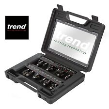 Trend PSS8X1/4TC 12 Piece Tungsten Carbide Router Cutter Set 1/4""