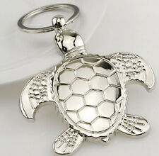 Creative sea turtle Tortoise animal Key Chain Ring Keychain Keyring Key Fob gift