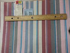 """Per Yard x 26.5"""" Vintage 100% Silk Pink/Mariner/White/Nickel Striped Tie Fabric"""