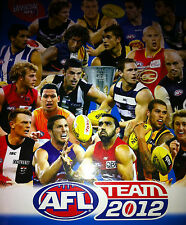 2012 AFL teamcoach Silver - CHECKLISTS for sale - all teams available NEW