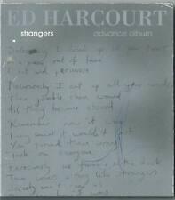 ED HARCOURT Strangers ADVANCE CD ALBUM PROMO CARDSLEEVE