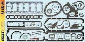 New 1948-1964 Willys 1947-1954 Kaiser Frazer 6 226 L-Head Full Engine Gasket Set
