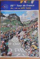Catalogue programme Tour de France 2001