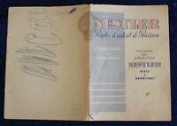 NESTLER Rietz & Darmstadt - Règles à Calcul de Précision - Mode d'emploi - 1930