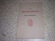1931.les Dillon-Corneck /  Chassin Guerny.généalogie Irlande