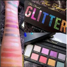 Brand TOO FACED GLITTER BOMB EYESHADOW PALETTE SHADOW NATURE GLOW Make-Up Mirror