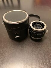 Vivitar Series 1 90mm F2.5 Macro Adapter For Olympus O/OM Good Condition
