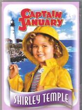 CAPTAIN JANUARY SHIRLEY TEMPLE GUY KIBBEE BUDDY EBSEN FOX UK REGION 2 DVD NEW