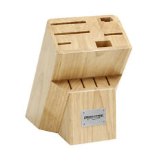 10 Slot wooden knife block Ergo Chef (Factory Second)
