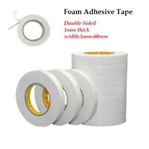 1 Roll Auto Truck  Acrylic Foam Double Sided Attachment Tape Adhesive 10 meters