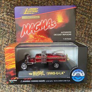 The Munsters Drag-U-La Johnny Lightning JL Limited Edition Magmas 1:43
